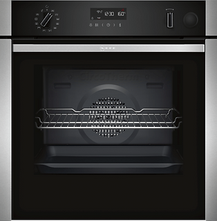 NEFF N50, BUILT-IN OVEN WITH ADDED STEAM FUNCTION, STAINLESS STEEL B5AVH6AH0B