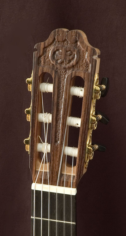 Carved Classical Headstock