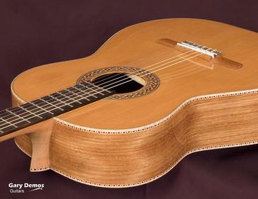 Classical Guitar with Jatoba Wood