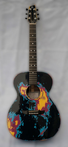 Paint Job Guitar by Gary Demos