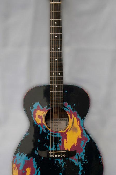 Custom Paint Acoustic Electric