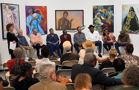 Deeply Detroit Artists Talk photo by Car