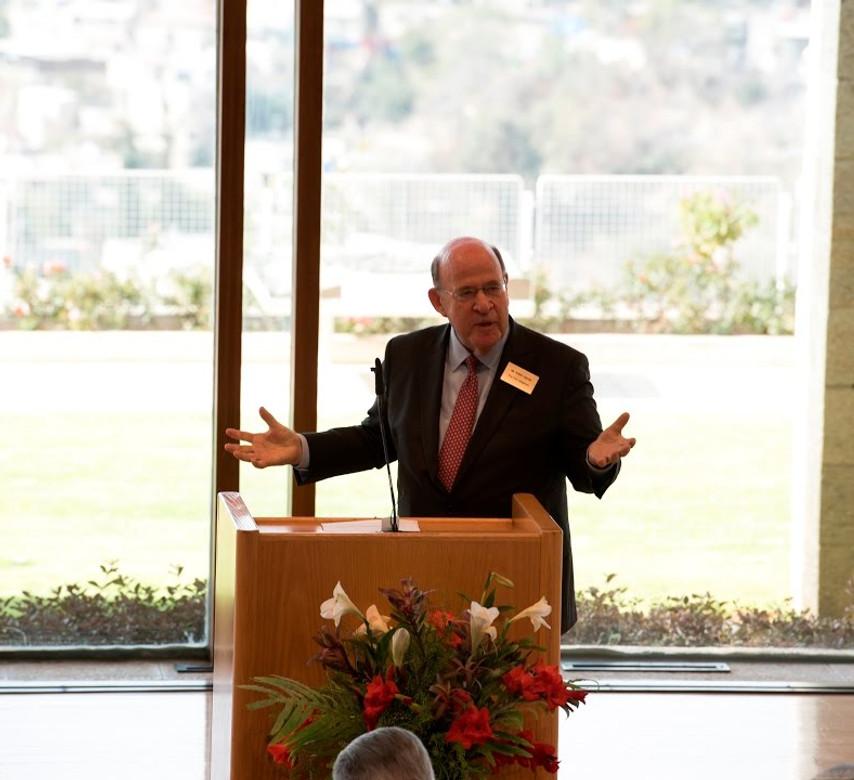 Former New York Attorney General Robert Abrams Speaks at BYU Jerusalem Center