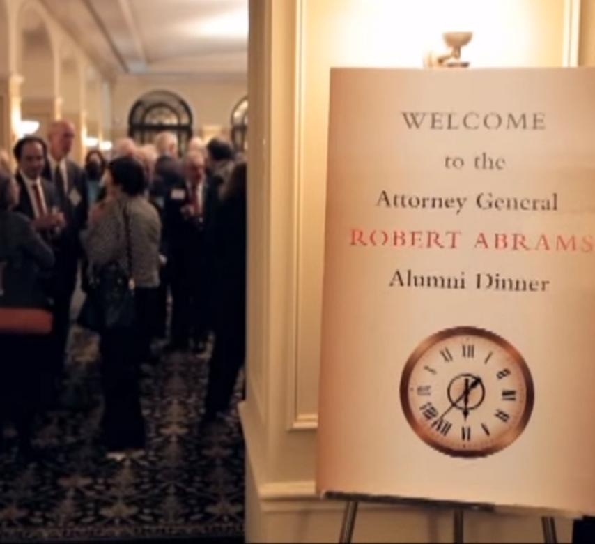 New York Attorney General's Office Alumni Dinner