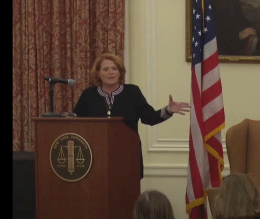 19th Annual Attorney General Robert Abrams Public Service Lecture: Heidi Heitkamp, United States Senator, North Dakota
