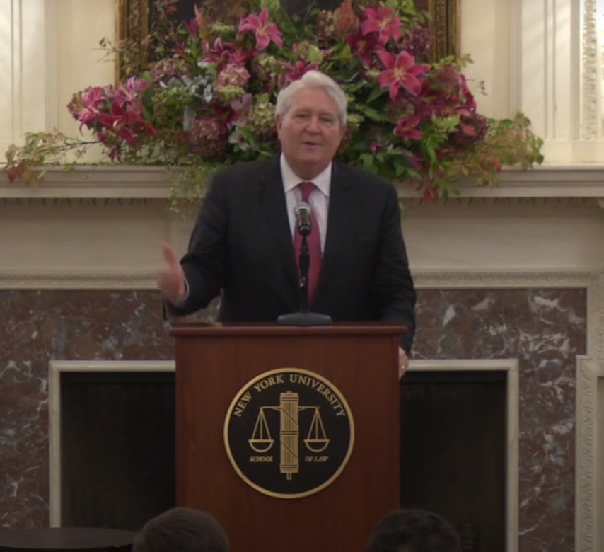 20th Annual Attorney General Robert Abrams Public Service Lecture: Michael Turpen, former Attorney General of Oklahoma
