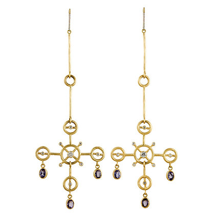 CIRCLES CHANDELIER EARRINGS