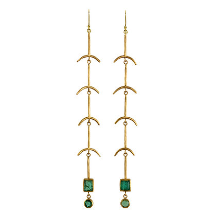 EMERALD BONES SHOULDER DUSTERS