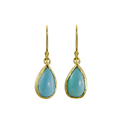 SMALL TURQUOISE EARRINGS