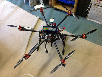Hexacopter 4K UHD