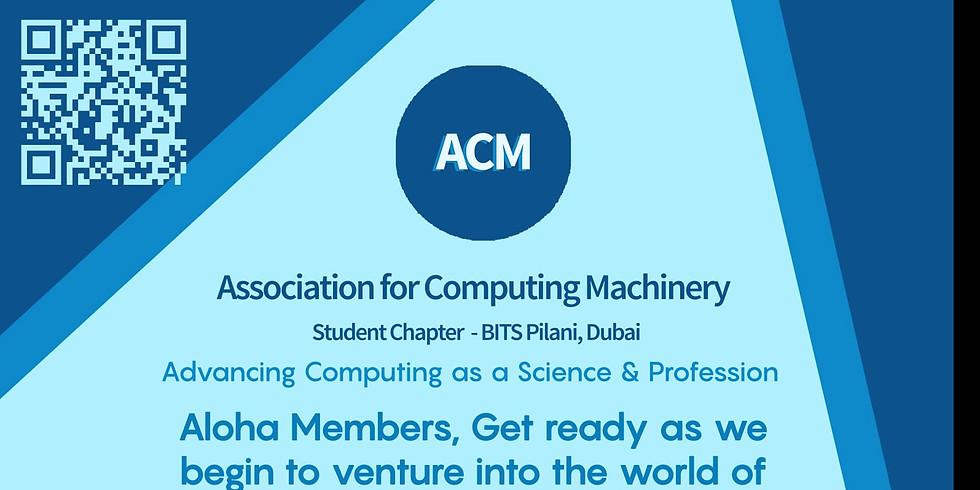 ACM Orientation
