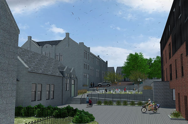 Planning application image of the site submitted to Aberdeen City Council November 2019