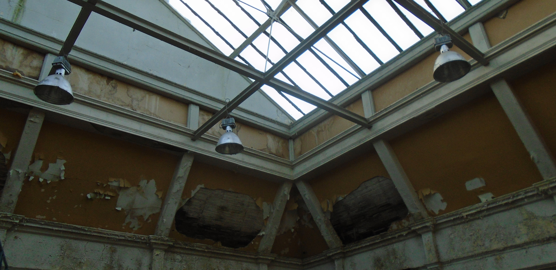 Interior of the buildings, Victoria Road site, Torry