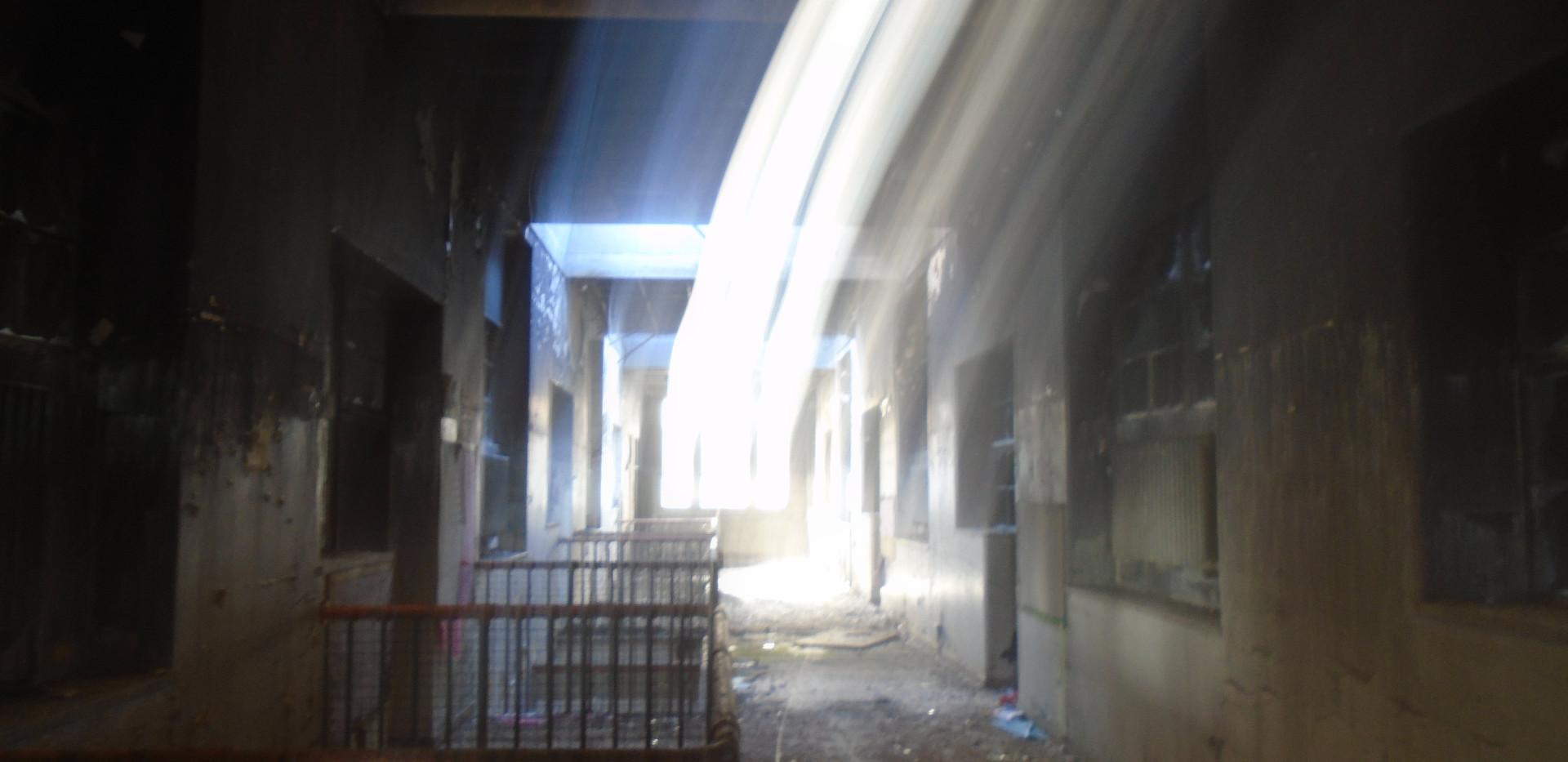 Interior of the buildings, Victoria Road School, Torry