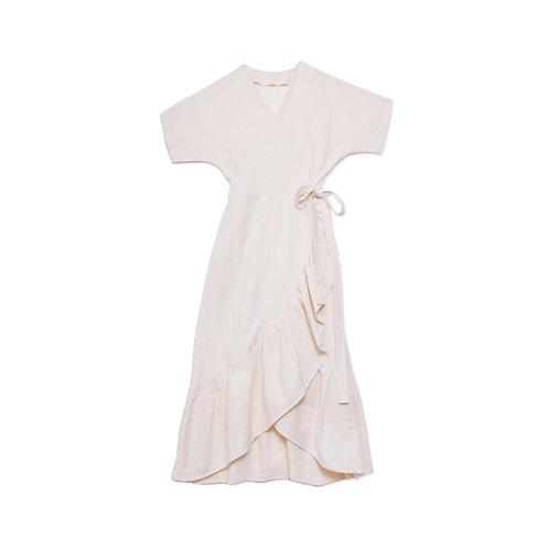 Organic Cotton Wrap Dress