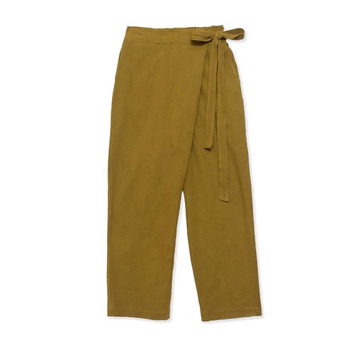 Organic Cotton Wrap Pant