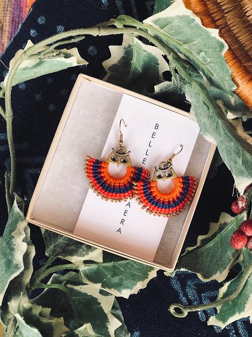 Owl 🦉 mandala earring