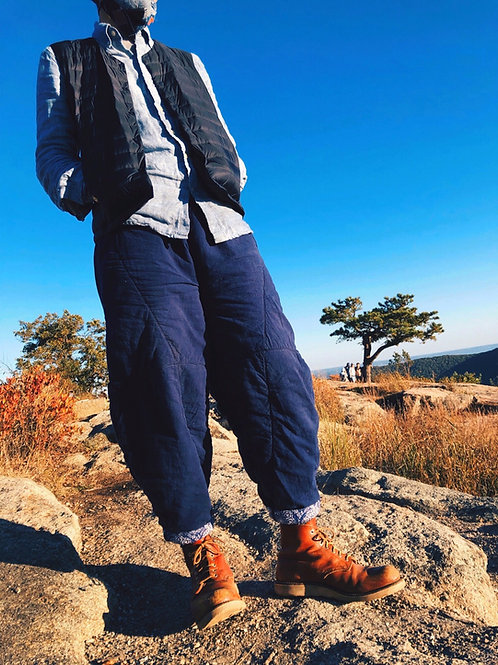 Insulated pants cotton - unisex