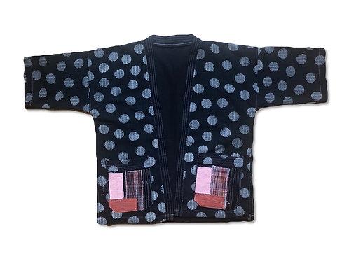Polka dot - Patch work kimono