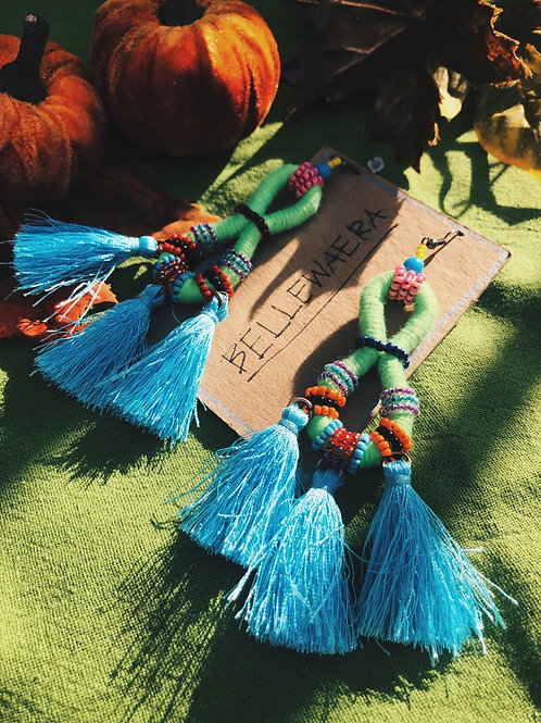 Infinity beads tassal
