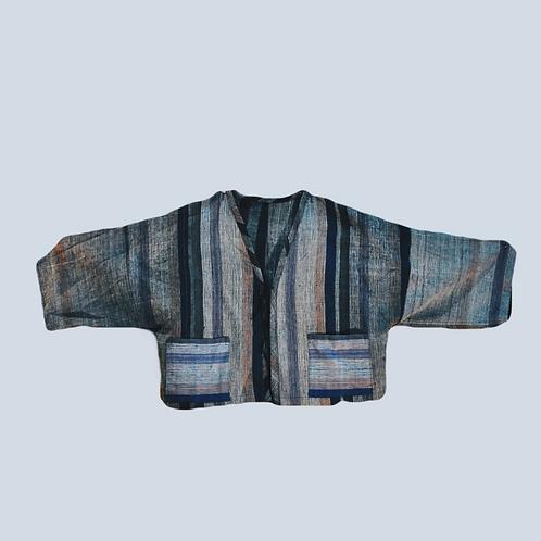 Hand weaving jacket