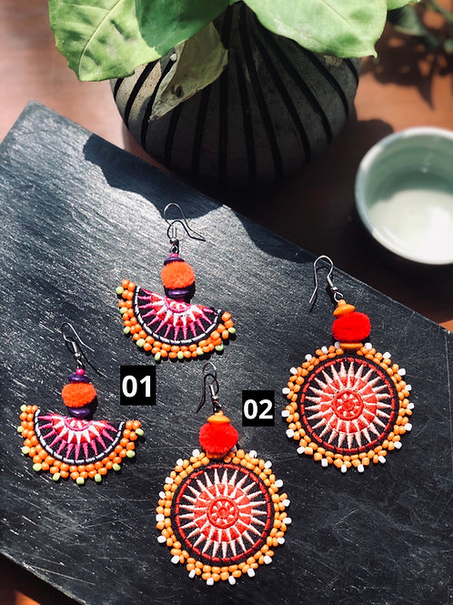 ☀️ Sun for life earrings