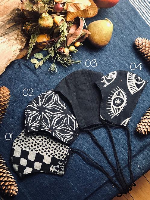 Handmade cotton mask