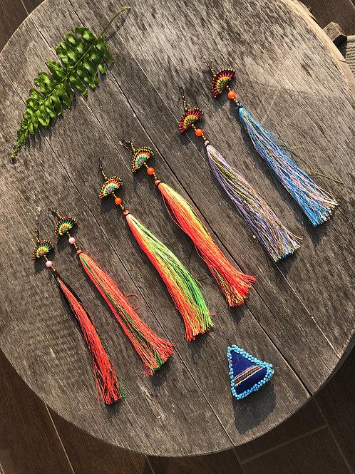 Hmong funky earring
