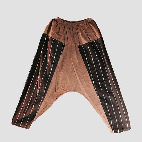 Hand woven cotton pant