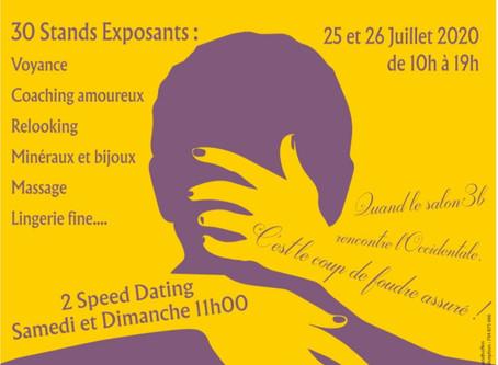 Le Salon des Célibataires du salon3b.com  Côte d'Azur se déroule à Montauroux (83)  l'Occidentale.