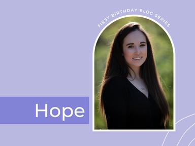 Hope: by Megan McCubbin