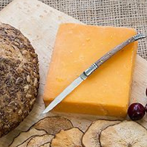 🧀 CHEDDAR from Goat Cheese  6oz Block