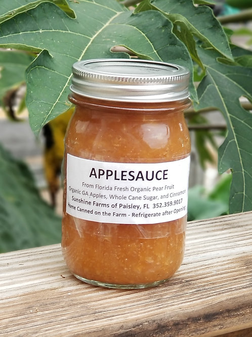 APPLESAUCE Chunky- 16oz Homecanned