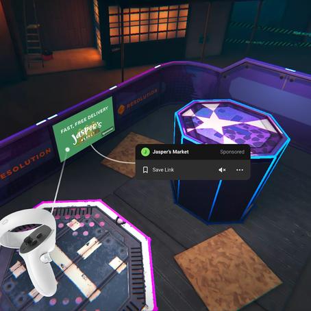 Facebook aduce reclamele in VR pe Oculus Quest