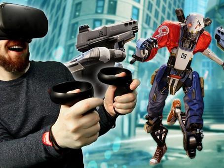 Jocuri pentru gameri in VR