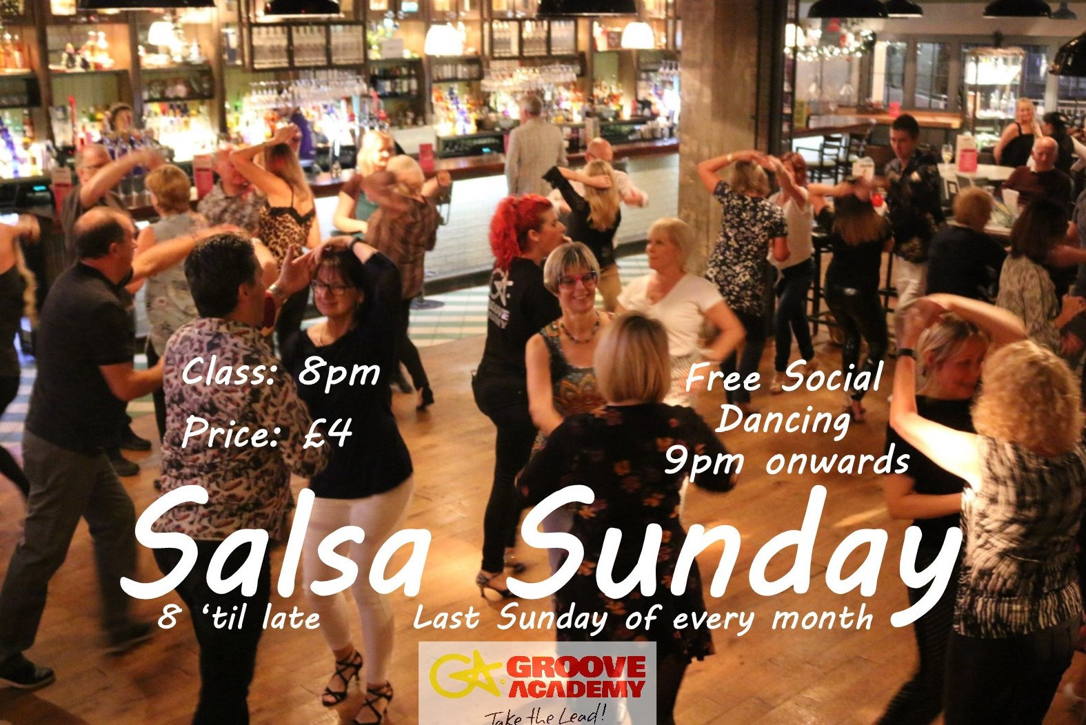 Salsa Sunday (Monthly)