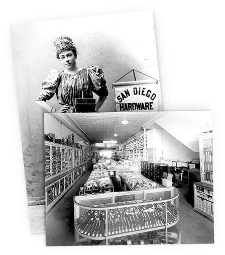 San Diego Hardware historical photos