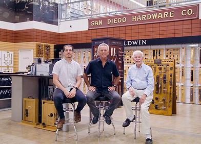 San Diego Hardware Family Photo