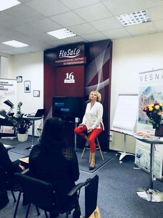 Первый обучающий модуль Конкурса Косметологов VESNA Beauty Awards 2018