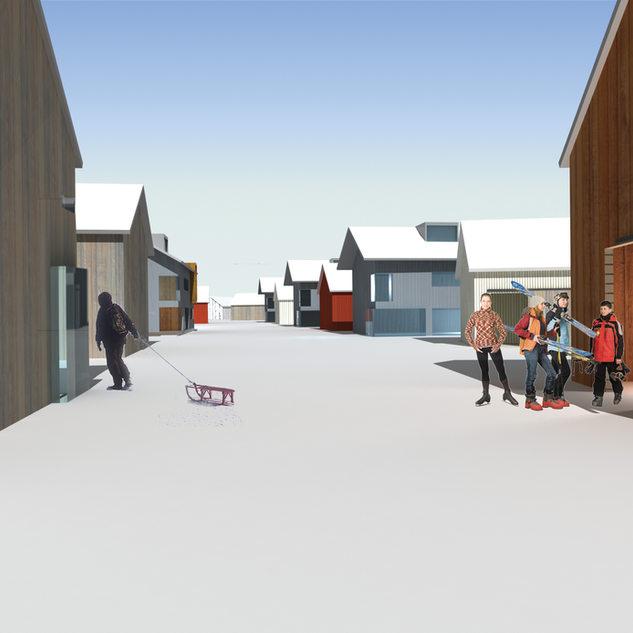 Ylläksen kylien yleinen arkkitehtuurikilpailu, jaettu 3. palkinto
