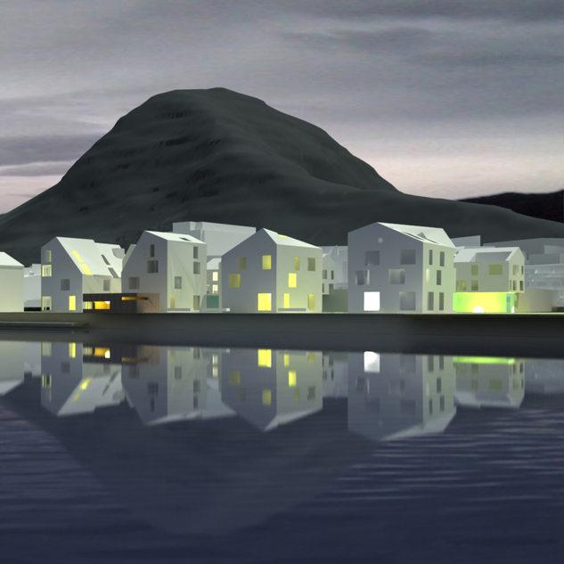Åndalsnesin ranta-alueen ja keskustan kehittäminen, avoin ideakilpailu 1. palkinto