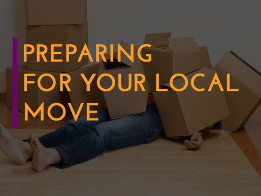 Preparing For Your Local Move