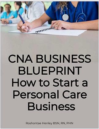 CNA Business Blue Print- Florida edition