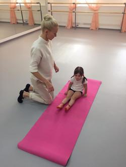 Прием в школу балета
