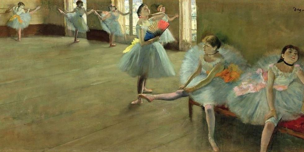 ЗАПЕЧЕТЛЕННОЕ ДВИЖЕНИЕ. Мастера кисти и резца о балете. Часть I.