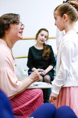Такие встречи вдохновляют наших воспитанниц