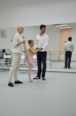 Педагоги на приеме в школу балета