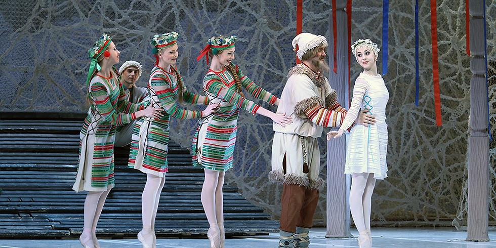 """Интерактивная лекция с мастер-классом """"Снегурочка: невероятная история четвертого балета Чайковского"""""""