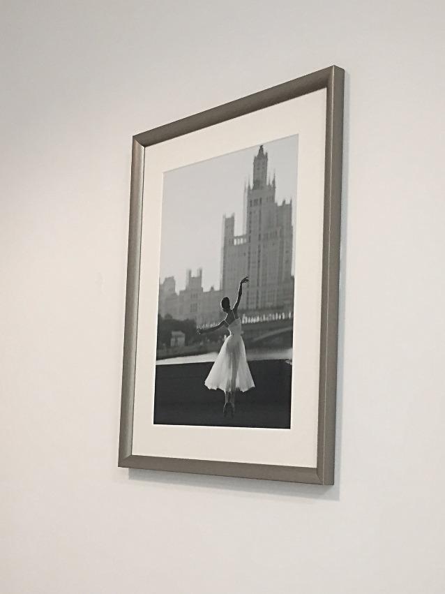 Москва. Балерина.