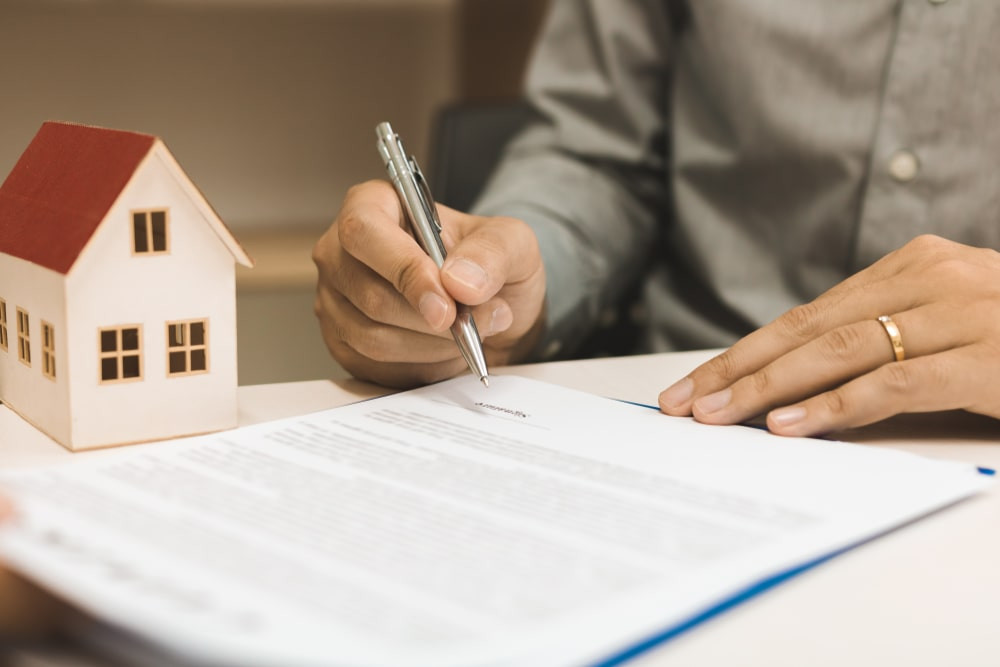 signing a buyer's rep agreement